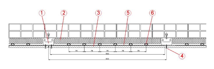 Proter imex wgkm moduli radianti a parete - Controsoffitto portante in cartongesso ...